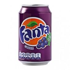 Fanta Cassis 24×33 cl